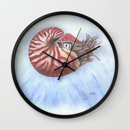 Nautilus Wall Clock
