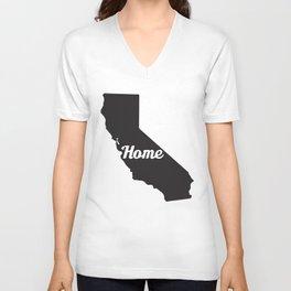 Home California Unisex V-Neck