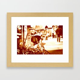 brooklyn. Framed Art Print