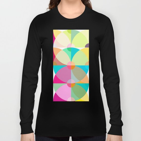 pastel circles Long Sleeve T-shirt