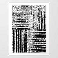 Short Stories Art Print