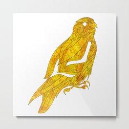 peregrine falcon ecopop Metal Print