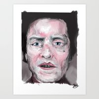 christopher walken Art Prints featuring Christopher Walken by Be Sound Art