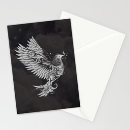 White Dove Stationery Cards