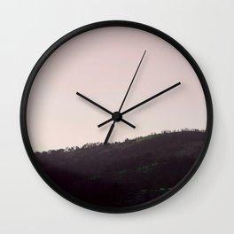 CIRCULAR SERIES Landscape Moody Hill Wall Clock