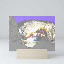 Take a Trip to the Little Grand Canyon Mini Art Print