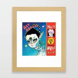 Grimes - Art Angels Framed Art Print