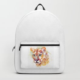 Cougar Head Backpack