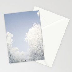Alles ist weiß Stationery Cards