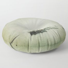 Two boats Floor Pillow