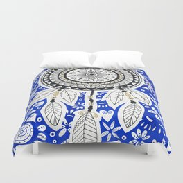 Dreamcatcher Mandala Duvet Cover