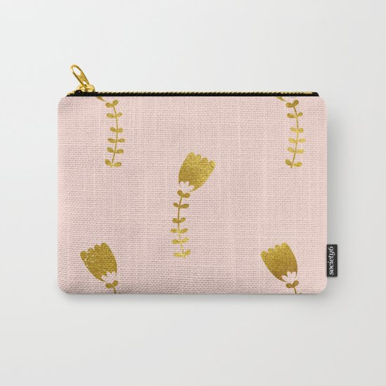 Pink Gold Foil 03 Carry-All Pouch