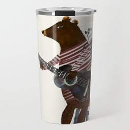 guitar song Travel Mug