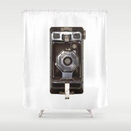 old vintage camera Shower Curtain