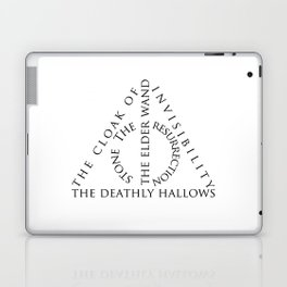 The Deathly Hallows Laptop & iPad Skin
