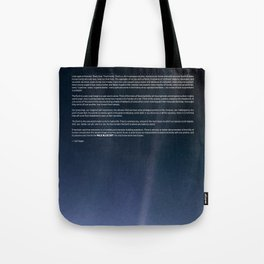Pale Blue Dot — Voyager 1 (2020 rev.) Tote Bag