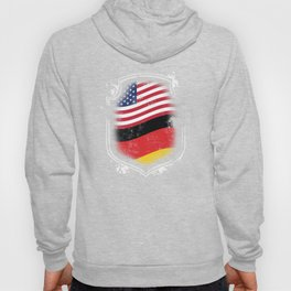 German American Flag Hoody