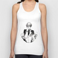 tokyo ghoul Tank Tops featuring Tokyo Ghoul Ink by fruits