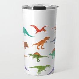 Dinosaur identificacion design Gift Types of dinosaurs graphic Travel Mug