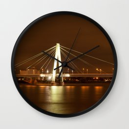 Cologne at Night Wall Clock