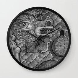 King Dragon Wall Clock