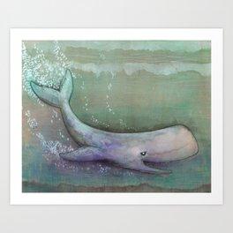 Hidden Depths Art Print