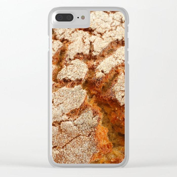Corn bread Clear iPhone Case
