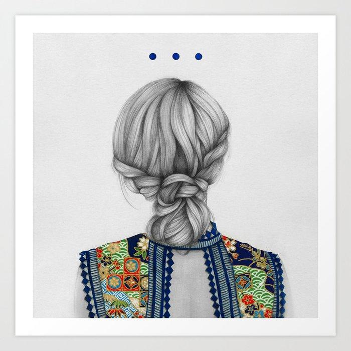 Strands II Art Print