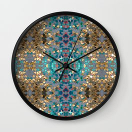 Sequin Mosaic Pattern Wall Clock