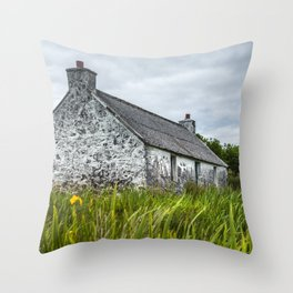 The Old Croft Throw Pillow
