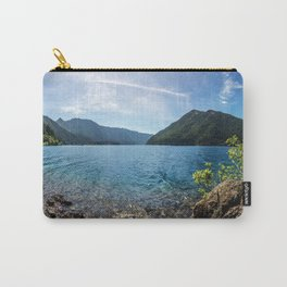 Lake Crescent Olympic Mountain Pano Carry-All Pouch
