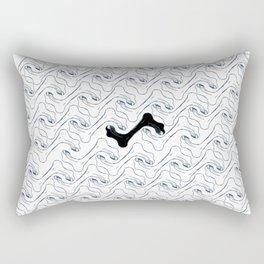 jogging Rectangular Pillow
