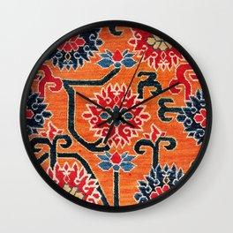 Shigatse South Tibetan Jabuye Rug Print Wall Clock