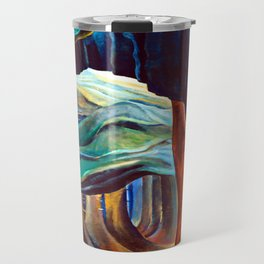Emily Carr Forest in British Columbia Travel Mug