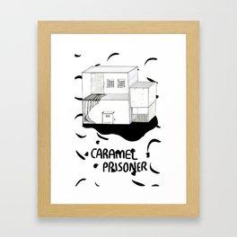 Caramel Prisoner Framed Art Print