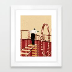 Coaster Framed Art Print