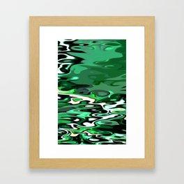 Re-Created Infinity Pool No. 2 by Robert S. Lee Framed Art Print