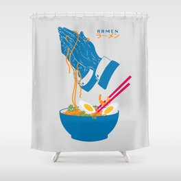 Delicious Daily Ramen Shower Curtain