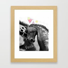 Mad Horse Framed Art Print