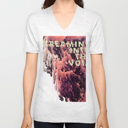 screaming into the void Unisex V-Neck