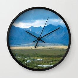 The Last Frontier, Denali National Park Wall Clock