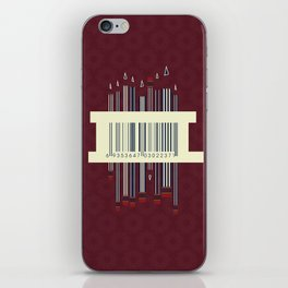Pencils iPhone Skin