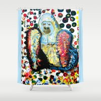 gorilla Shower Curtains featuring Gorilla by creative kids
