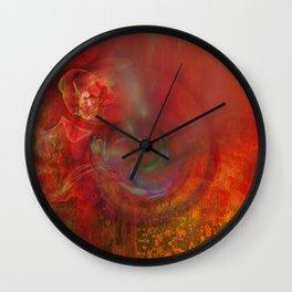 Irma storm Wall Clock