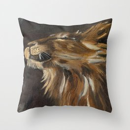 Exultant in His Freedom Throw Pillow