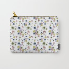 Florence White Carry-All Pouch