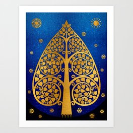 Bodhi Tree0503 Art Print