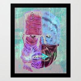 Monster Mash-up Art Print