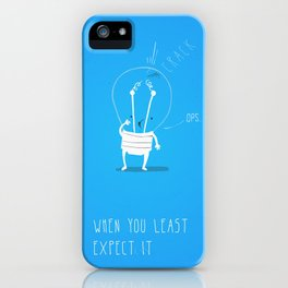 WOW! Trouble #1 iPhone Case