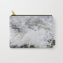 Turbulent Lake Water 2 Carry-All Pouch